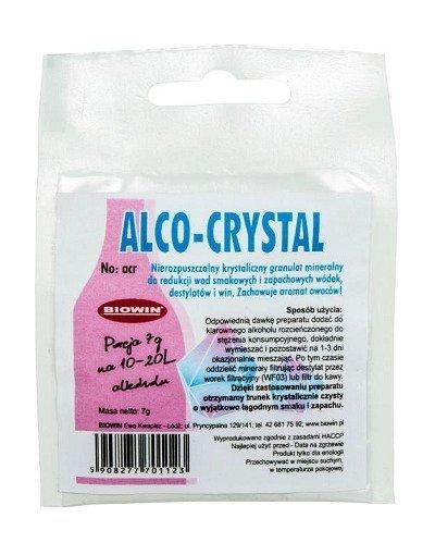 ALCO-CRYSTAL poprawia smak i aromat spirytualiów