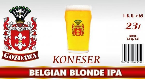KONESER - Belgian Blonde IPA