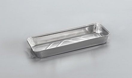 Forma aluminiowa prostokątna 650ml 25szt.