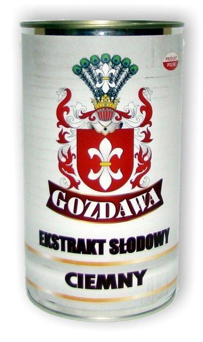 Ekstrakt Słodowy Ciemny - Gozdawa - 1,7kg