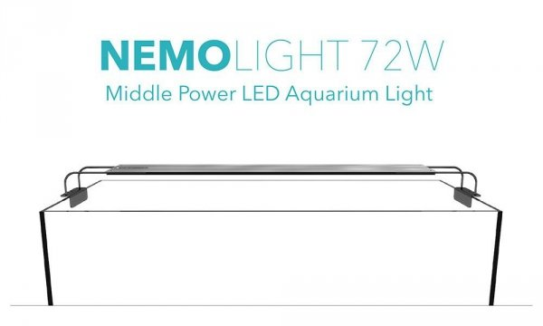 NemoLight Aqua Fresh 72W LED PLANTED VERSION