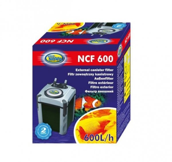 FILTR ZEWNĘTRZNY NCF-600 DO 150L AQUA NOVA