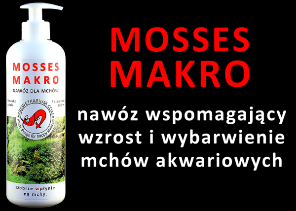 MOSSES MACRO NAWÓZ DLA MCHÓW 500 ml