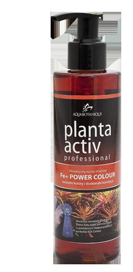 AQUABOTANIQUE PLANTA ACTIV POWER COLOUR FE+ 500ml NAJLEPSZY