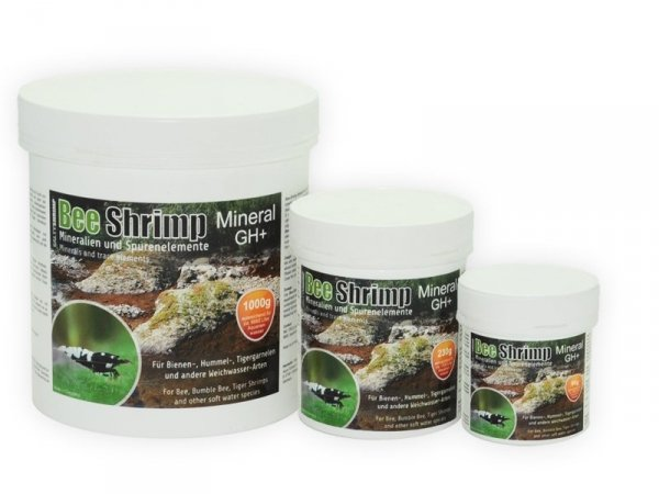 SALTY SHRIMP MINERAL GH+ BEE TIGER 1000g