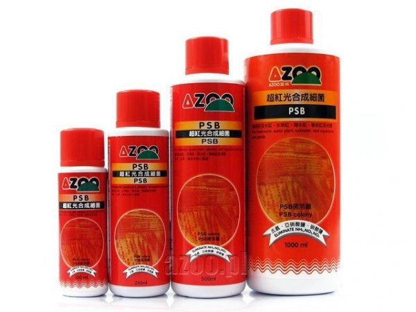 AZOO SUPER PSB 250 ml usuwa NH3, NO2, NO3