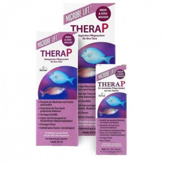 MICROBE-LIFT TheraP 473ml redukuje NO3 NO2, dobra woda