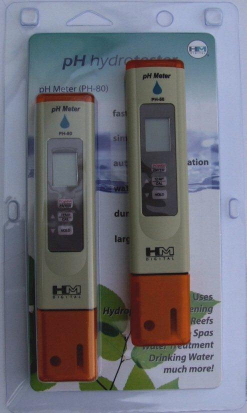 Elektroniczny Miernik Odczynu pH i temp PH-80