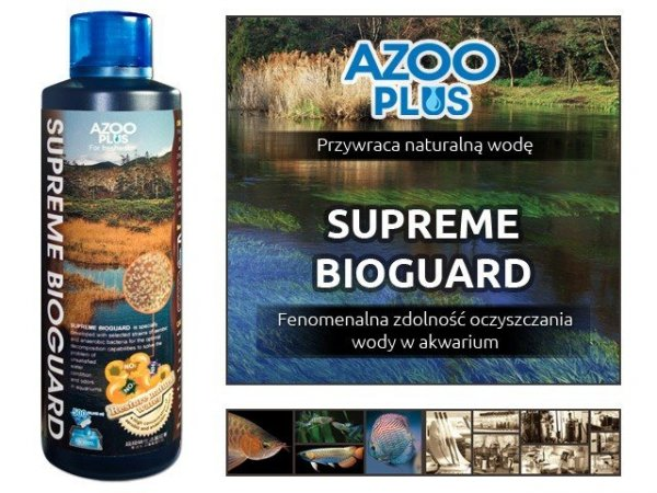 AZOO SUPREME BIOGUARD 500ml EKOSYSTEM HIT!!!