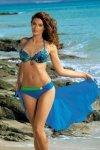 Dámské plavky Marko Audrey Surf M-320 modro-zelené