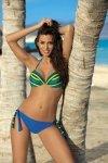 Dámské plavky Marko Alison Dandy M-297 modré