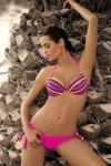 Dámské plavky Marko Alison Clematis M-297 růžové