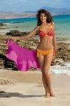 Dámské plavky Marko Alison Calendula M-297 mandarinkové