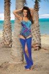 Dámské plavky Marko Belinda Blueberry M-286 modré