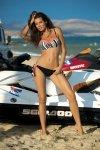 Dámské plavky Marko Melissa Nero + Coralmania M-288 korálové