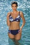 Dámské plavky Marko Helen Blueberry M-317 tmavo modré