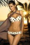 Dámské plavky Marko Honey Ecru-Africa M-278 tělová - hnědá