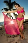 Dámské plavky Marko Salma Popstar M-254 růžové
