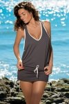 Plážové šaty Marko Elsa Piedra M-313 Mocca