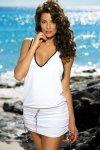 Plážové šaty Marko Elsa Bianco M-313 bílá