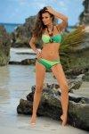 Dámské plavky Marko Christina M-348 Cubano-Freeze-Maldive