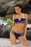 Dámské plavky Marko Demi M-347 Blueberry