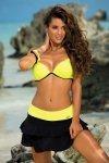 Plážová sukně Marko Mila M-334 Nero-Tweety