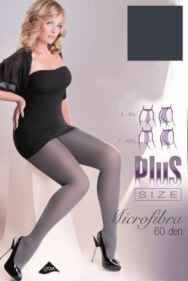 Gabriella Microfibre 60 DEN Plus Size code 162 Punčochové kalhoty