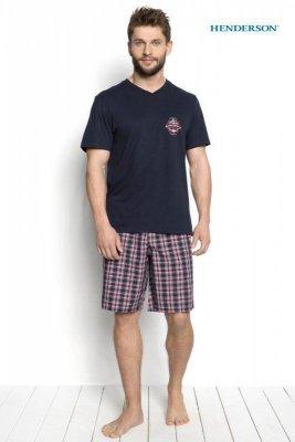 Henderson Dimer 34274-59X Tmavě modré Pánské pyžamo