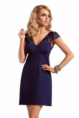 Donna Diana dark blue Noční košile