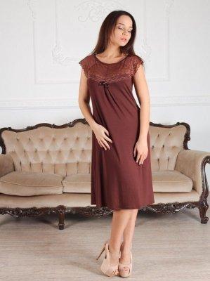 Roksana Linda 539 Burgundy (Bordo) Noční košilka