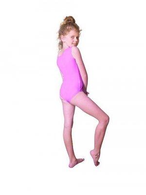 Shepa Gymnastický dres Body lycra (B9) bez rukávů