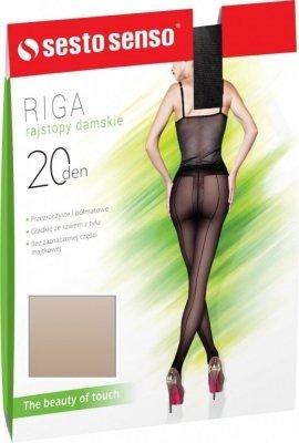 Sesto Senso Riga 20 DEN Punčochové kalhoty