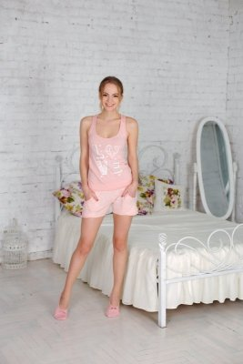 Roksana Love & Pink 500 Dámské pyžamo