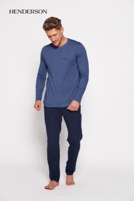Henderson Saw 35411-59x Modro-tmavě modré Pánské pyžamo