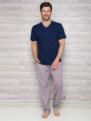 Taro Adam 2131 AW/17 K2 Tmavě modré Pánské pyžamo
