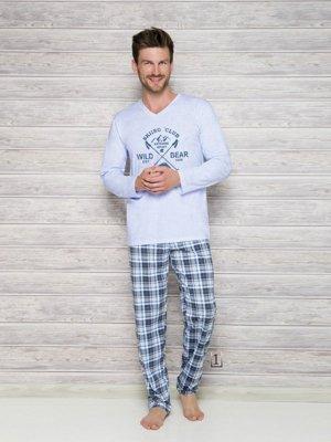 Taro Arek 2130 AW/17 K1 Světle modré Pánské pyžamo