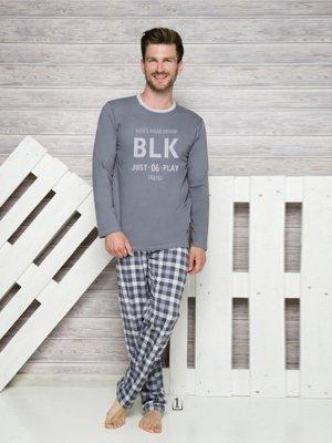 Taro Leon 1173 AW/17 K1 Grafitové Pánské pyžamo