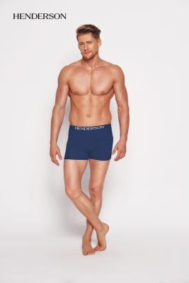 Henderson Man 35218-55x Tmavě modré Pánské boxerky