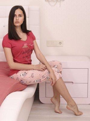 Roksana Nathalie 605 Dámské pyžamo
