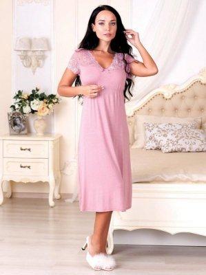 Roksana Diana 575 Růžová Noční košilka