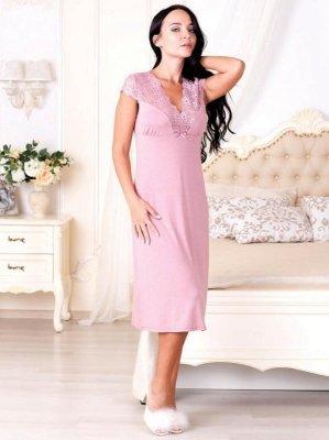 Roksana Rosaline 574 Růžová Noční košilka