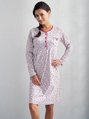 Luna Scarlett 105 Růžová Noční košilka