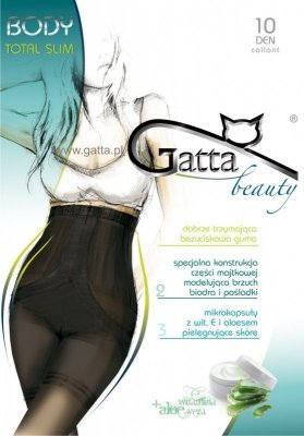 Punčocháče Gatta Body Total Slim 10 DEN