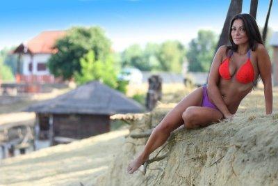 Plavky Demi Saison Primavera Bikini červené