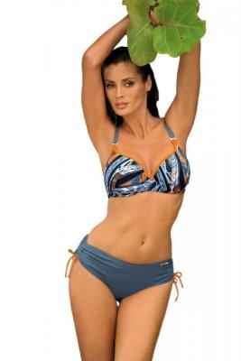 Dámské plavky Marko Doris M-352 Ardesia-Incas