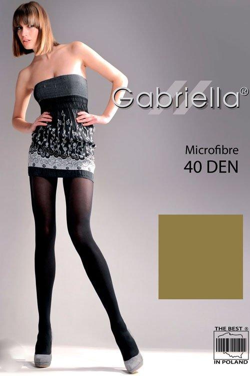 Gabriella Microfibre 40 Den Code 121 Punčochové kalhoty