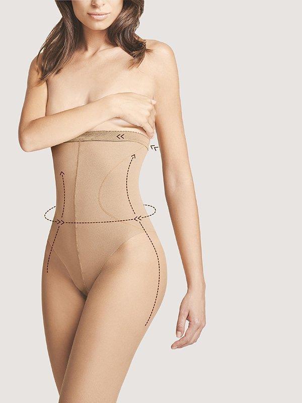 Fiore Body Care High Waist Bikini 20 Punčochové kalhoty