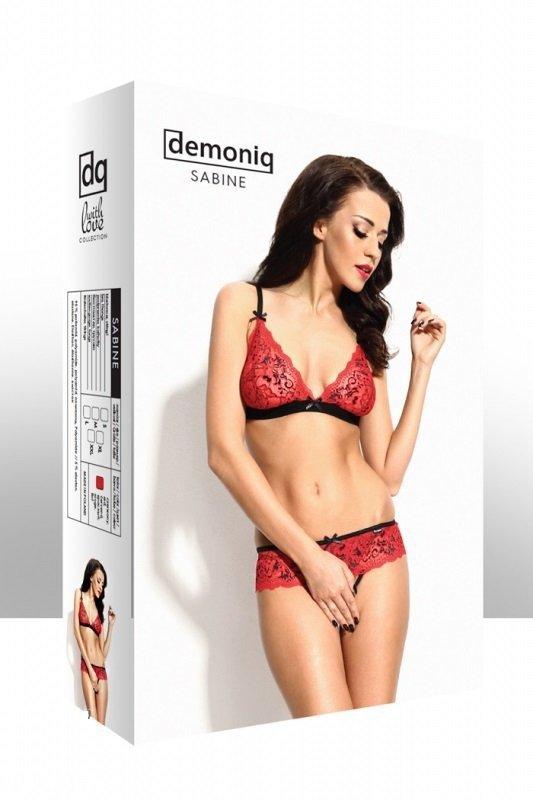 Demoniq Sabine red Erotická Souprava