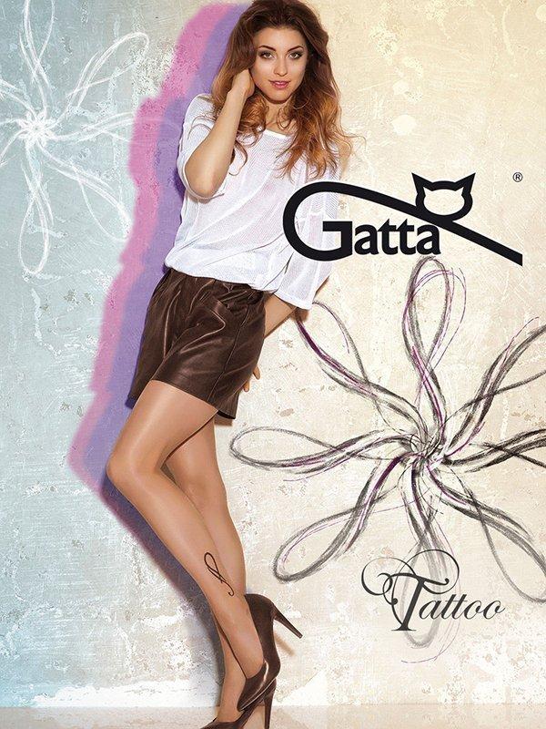 Gatta Tattoo 23 Punčochové kalhoty